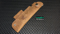 Benchmade 988271F Replacement  Leather Sheath for Bushcrafter
