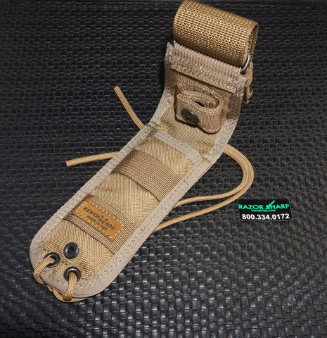 Benchmade 983469F Brown Molle Fixed Soft Sheath 140/141