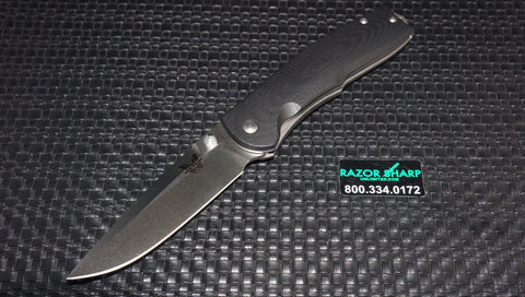 Benchmade 890 Torrent Spring Assisted Opening Knife Satin Plain Edge