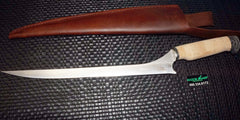"White River Knives Step Up Fillet Knife 11"" 440C Blade Cork Handle"