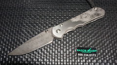 Chris Reeve Sebenza 25 Frame Lock Knife CGG Rain Drop Damascus
