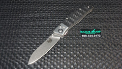 Benchmade 483 Shori Knife Nak-Lok Pocket Folder Satin Plain