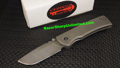 Chaves Custom Knives Redención Frame Lock Folder BB/GREEN #57