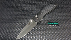 Benchmade Griptilian 551 Manual AXIS Lock Knife Satin Plain Edge