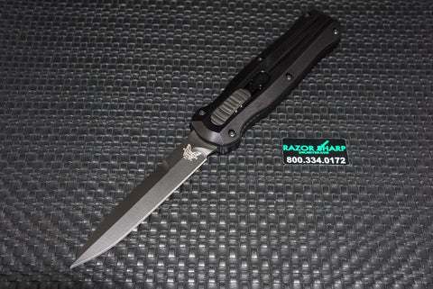 Benchmade 3321BK Pagan S/E OTF Automatic Knife Black