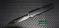 Microtech 242-2T Cypher Microtech D/E Serrated OTF Automatic Knife Smooth Tactical