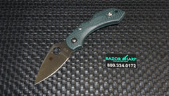 Spyderco C28PGRE2 Dragonfly 2 Green FRN Knife ZDP-189 Satin Plain