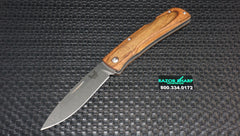 Benchmade 15051-2 Big Summit Lake Knife Lock Back Folder Wood