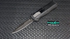 Benchmade 3350BK Mini Infidel Knife OTF Double Action Automatic Black Plain