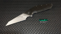 Kershaw 4001SW Tilt Flipper Knife w/ Carbon Fiber Composite Blade Plain