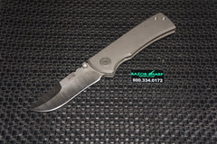 Chaves Redencion 228 Christensen Knife Works Customized ReGrind Titanium Knife