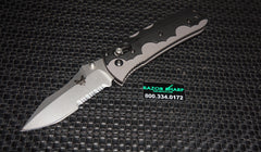 Benchmade 420S Snody Resistor AXIS Lock Manual Knife Serrated Edge