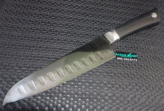 "Shun VB0718 Sora 7"" Hollow Ground Santoku Knife Japanese Style Knife"