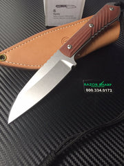 Chris Reeve CH1024 Nyala Insingo Fixed Blade Knife Brown Micarta Handle