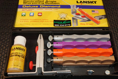 Lansky LKDMD Deluxe Diamond Knife Sharpening System