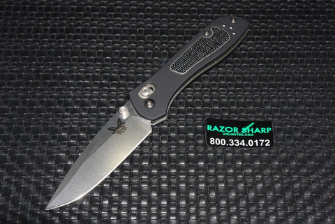 Benchmade 707 Sequel AXIS Lock Knife Satin Plain Edge