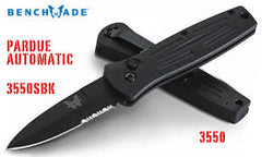 Benchmade 3550 Mel Pardue Automatic Knife Satin Plain Edge