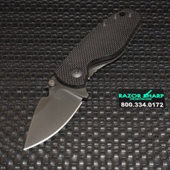 DPx HEAT/F Frame Lock Knife Black G-10 Titanium Gray Niolox