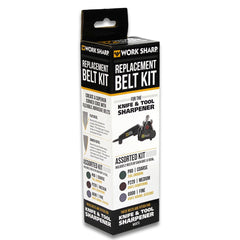 "WORK SHARP ASSORTED BELT KIT,OE REPLACEMENTS - ½"" X 12"""