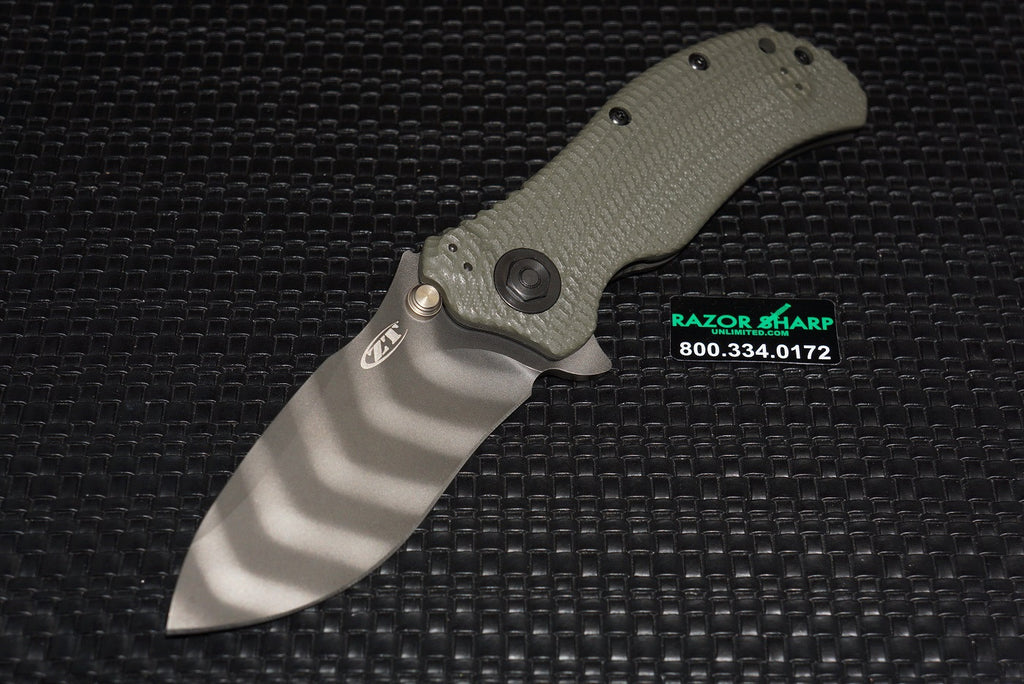 Zt Zero Tolerance 0301 Ranger Green Plain Tiger Stripe Assisted