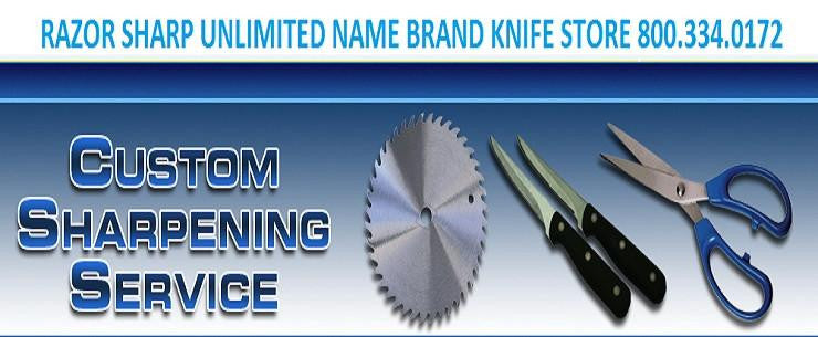 Razor Sharp Unlimited Knife Store and Sharpening Service