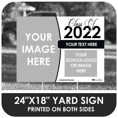 Create Your Own - Photo & Logo Yard Sign
