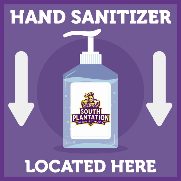 Hand Sanitizer - COVID-19 Precautionary Sign