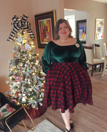 Load image into Gallery viewer, Circle Skirt- Christmas and other Prints