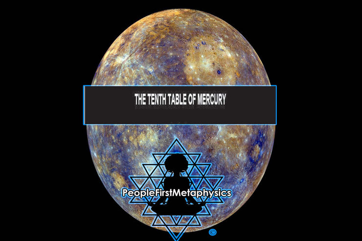 Tenth Table Planetary Seal of Mercury from the 6th & 7th Books of Moses #Seals #Moses #Magic #Hebrew #Enochian Magick