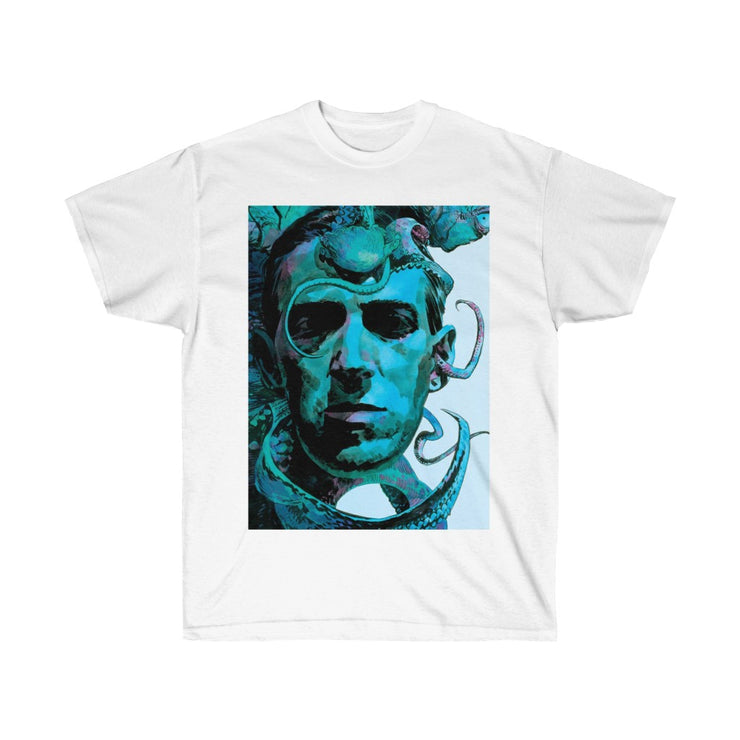 HP LoveCraft Ultra Cotton Tee #SigilTees #OccultTees #SigilMagick #Necronomicon #OccultTShirts #MagickalTees #EvocationMagick