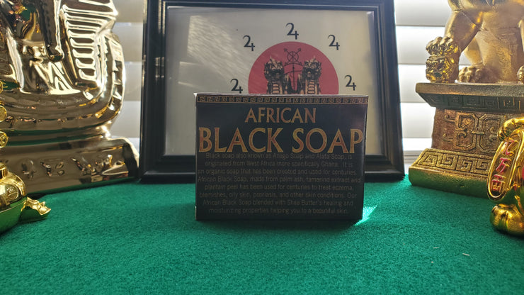 African Black Bar Soap 3.3 oz #HolisiticHealth #AlternativeSolutions #HealthAndHygiene #SpiritualPerfume #AttractionMagick