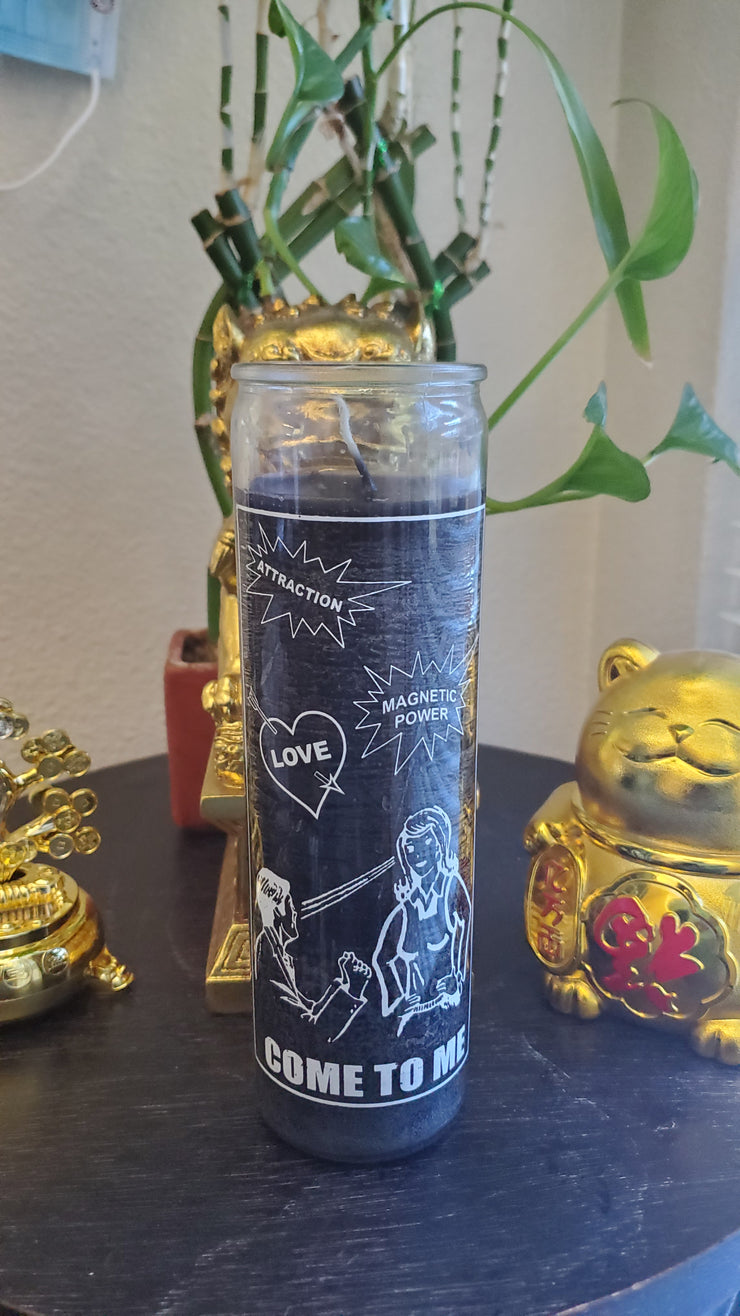 Come To Me 7 Day Wealth Candle** #SpellCandles #RootWork #conjure