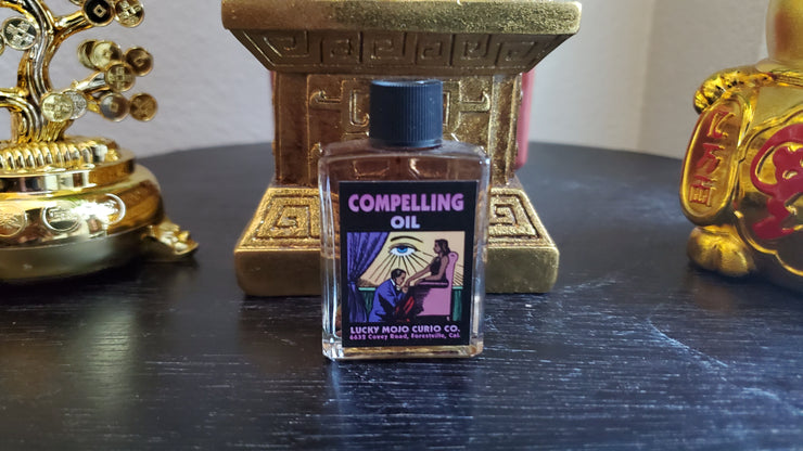 "LuckyMojoCurioCo ""Compelling Oil"" Anointing / Conjure Oil #Great Deal #LuckyMojoCurioCo #LuckyMojo #EffectiveOils #BlackMagick"