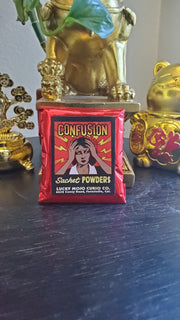 "LuckyMojoCurioCo ""Confusion"" Sachet Powder #Great Deal #LuckyMojoCurioCo #LuckyMojo #SachetPowders #Hoodoo #ConfusionSpell"