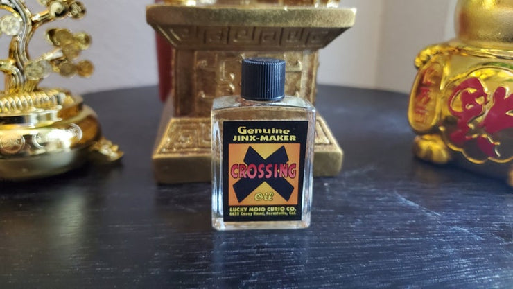 "LuckyMojoCurioCo ""Crossing Oil"" Anointing / Conjure Oil #Great Deal #LuckyMojoCurioCo #LuckyMojo #EffectiveOils #BlackMagick"