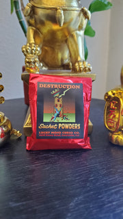 "LuckyMojoCurioCo ""Destruction"" Sachet Powder #Great Deal #LuckyMojoCurioCo #LuckyMojo #SachetPowders #AirMagick"