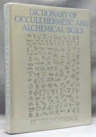 Dictionary of Occult Hermetic and Alchemical Sigils By Fred Gettings **RARE BUY** Hard to find Read!!!l #CheaperThanAmazon #Occult #Alchemy