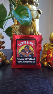 "LuckyMojoCurioCo ""Dixie Love"" Bath Crystals #Great Deal #BathCrystal #SpiritBath #CleansingRituals #RitualMagick #LuckMagick"