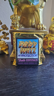"LuckyMojoCurioCo ""Fiery Wall of Protection"" Bath Crystals #Great Deal #BathCrystal #SpiritBath #CleansingRituals #RitualMagick"