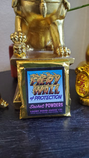 "LuckyMojoCurioCo ""Fiery Wall Of Protection"" Sachet Powder #Great Deal #LuckyMojoCurioCo #LuckyMojo"