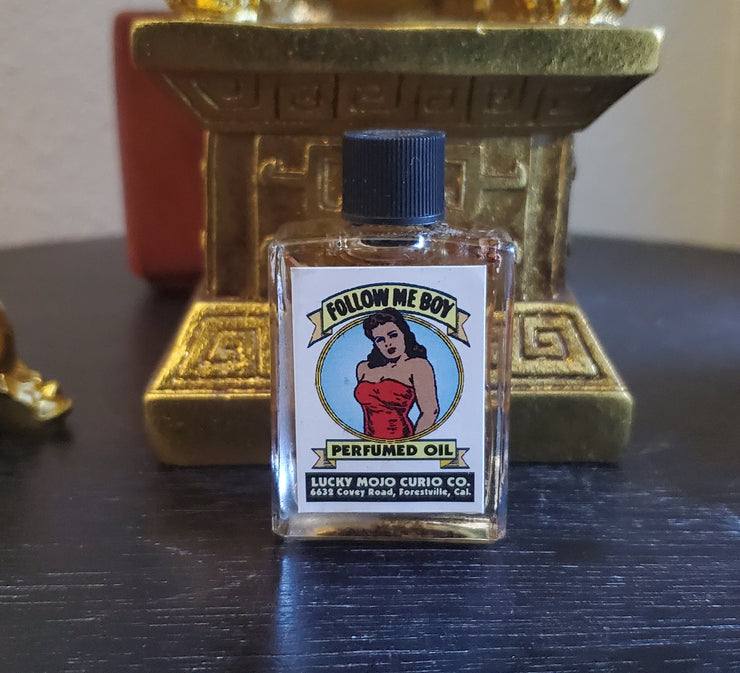 "LuckyMojoCurioCo ""Follow Me Boy Oil"" Anointing / Conjure Oil #GreatDeal #LuckyMojoCurioCo #LuckyMojo #EffectiveOils #MustHave"