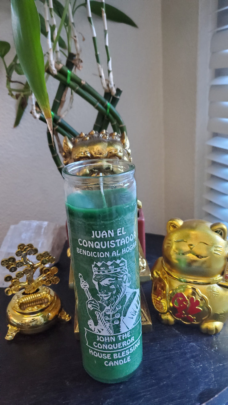 High John The Conqueror 7 Day Ritual Candle** #SpellCandles #RootWork #conjure