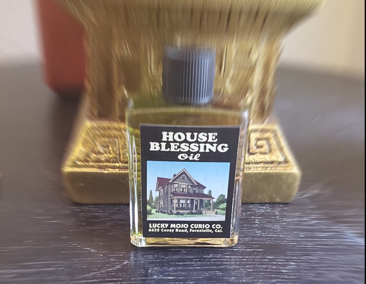 "LuckyMojoCurioCo ""House Blessing Oil"" Anointing / Conjure Oil #GreatDeal #LuckyMojoCurioCo #LuckyMojo #EffectiveOils #MustHave"
