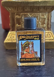 "LuckyMojoCurioCo ""King Solomon Wisdom Oil"" Anointing / Conjure Oil #Great Deal #LuckyMojoCurioCo #LuckyMojo #EffectiveOils #WisdomOil"