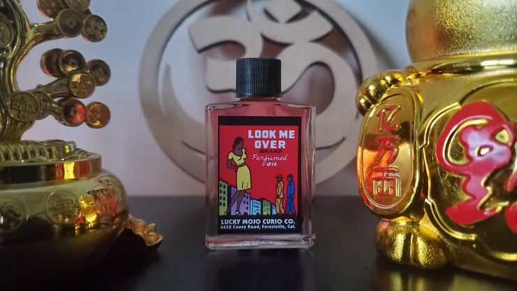 "LuckyMojoCurioCo ""Look Me Over"" Anointing / Conjure Oil #Great Deal #LuckyMojoCurioCo #LuckyMojo #EffectiveOils #BlackMagick #LoveMagic"