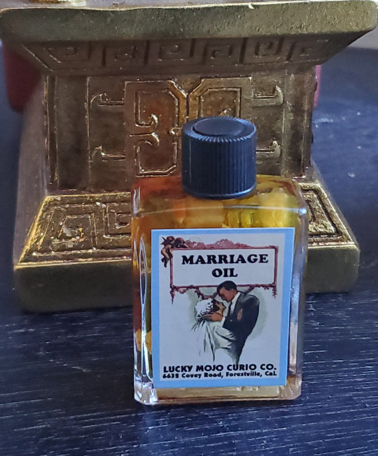 "#LuckyMojoCurioCo ""MARRIAGE"" Anointing / Conjure Oil #Great Deal #LuckyMojoCurioCo #LuckyMojo #EffectiveOils #MustHave"