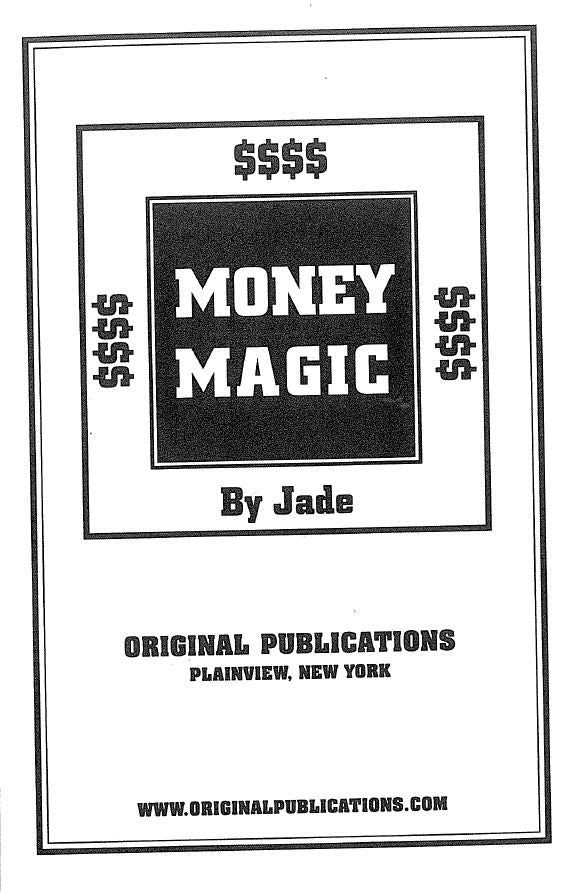 Money Magic By Jade  #Last2PhysicalCopies *SUPER RARE* #HardToFind #CheaperThanAmazon #PowerfulRitual #MoneyMagic #PowerfulMoneySpells