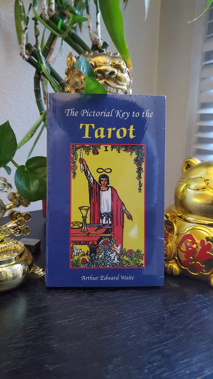 Pictorial Key To Tarot Instruction Booklet by Arthur Edward Waite, Classic Tarot Deck, #Tarot #Divination #TarotCards #DivinationTools