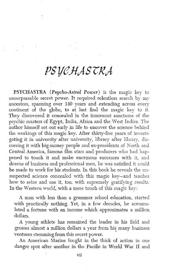 Psychastra: key to secret ESP+Control Frank Rudolph Young *VERY RARE* *Must Buy* !!Hard to Find!! #CheaperThanAmazon(last copy in print)