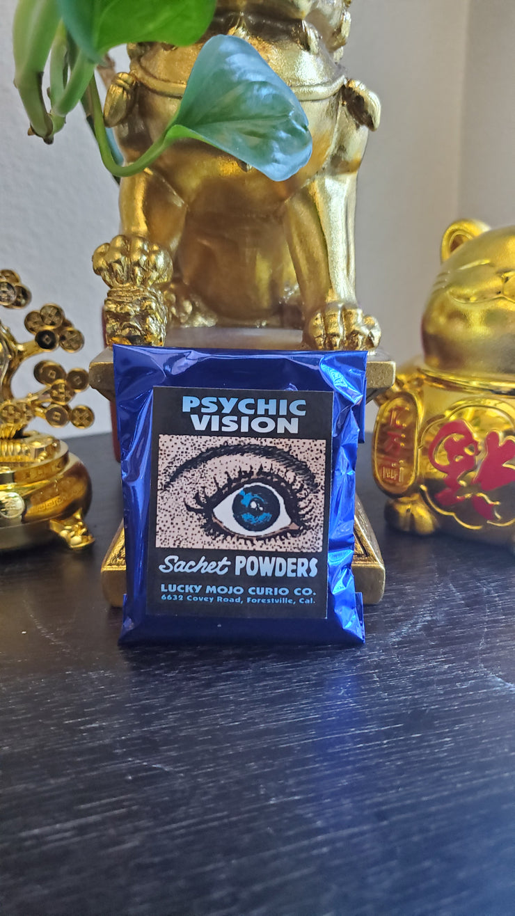 "LuckyMojoCurioCo ""Psychic"" Sachet Powder #Great Deal #LuckyMojoCurioCo #LuckyMojo #SachetPowders #Hoodoo"